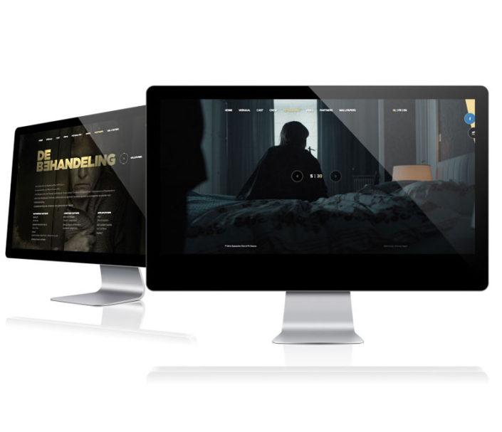 Website de behandeling