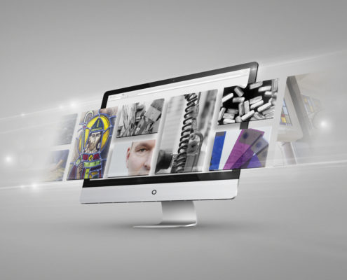 website voor Stijlvol glas in lood