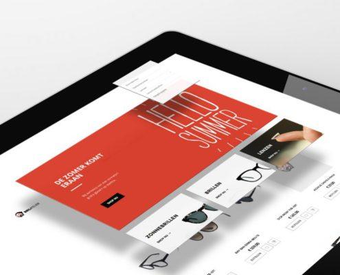 Webshop voor het brilatleier Gent