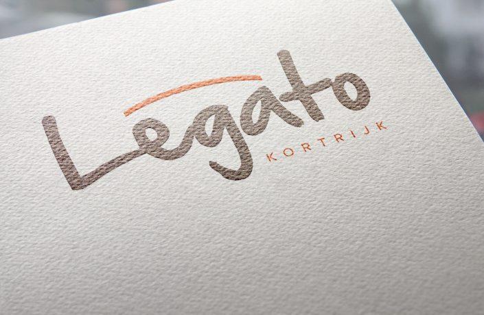 Speels Logo voor Legato