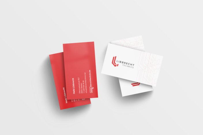Librecht technics visitekaartjes