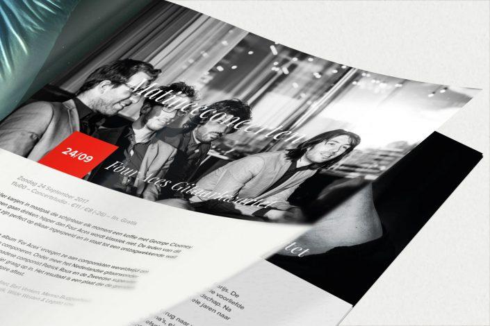 Ontwerp van een brochure