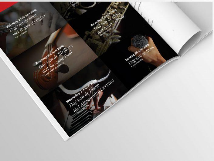 Binnenkant ontwerp brochure